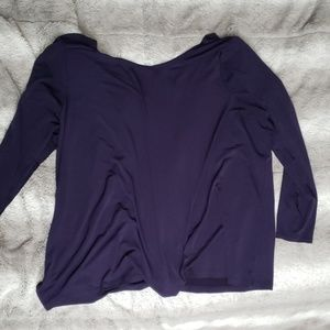 Purple Lane Bryant blouse